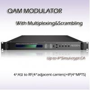 DVB-ASI Input Four-Channel Mux-Scrambling QAM Modulator RTS4504 Manufactures