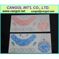 China Body Art Temporary Tattoo Sexy Non-Toxic  Tattoos Sticker For Women on sale