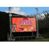 IP65 Outdoor SMD LED Display , K10 Large Viewing Angle Display Manufactures