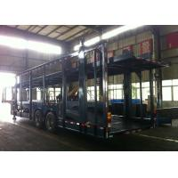 Auto Transport Commercial Car Carrier Trailer 8 Cars 8 Piece Leaf Spring Double Decker Manufactures