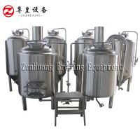 100L Micro Home Beer Brewing System , Stainless Steel Home Beer Brewing Machine Manufactures
