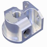 OEM High Precision CNC Machining Billet Aluminum Remote Oil Filter Mount Manufactures