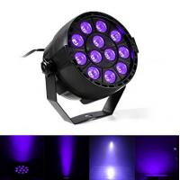IP33 Voice-control Violet Led Disco Lights with Black + Transparent Cover Manufactures