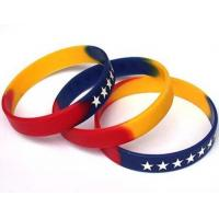 Buy cheap Multicolor Silicone Bracelet from wholesalers