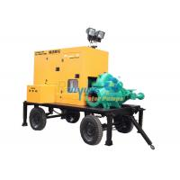 Multi - function mobile Diesel generator water pump set supply electricity Manufactures