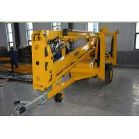 China Telescopic Aerial Boom Lift Work Platform Fast Lifting Speed For Warehouse on sale