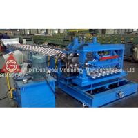 China Corrugation Roof Glazed Tile Roll Forming Machine For Industrial Workshop on sale