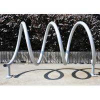 Sturdy Bicycle Display Stand , Metal Gravity Bike Parting Rack Manufactures
