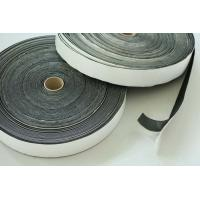 Quality Flexibility SBR Black Rubber Foam Self Adhesive Tape / Sealing Tape Waterproof 2mm for sale