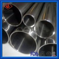 China Customized Stainless Steel Welded Tube Stable Performance For Food Processing on sale