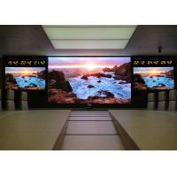 High Brightness LED Curtain Display Indoor Advertising Screens 2 Years Warranty Manufactures