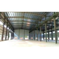 Pre Engineered Steel Structure Warehouse Buildings With Double Spans Manufactures