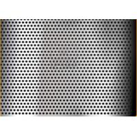 China Regular  5mm Thick Decorative Perforated Stainless Steel Sheet With 1524mm Width on sale