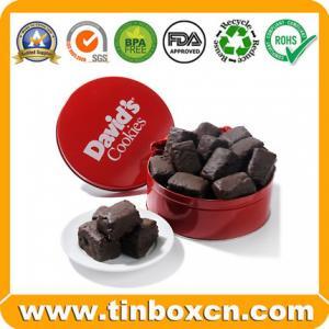 China Chocolate Tin,Chocolate Box,Round tin can,food tin box on sale