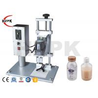 Quality Long Life Semi Automatic Capping Machine , Plastic Bottle Cap Sealing Machine for sale