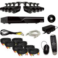 8 Channel DVR Surveillance System Support Mobile With Motion Detetion Manufactures