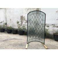 S010 Patterned Decorative Bathroom Window Glass Heat Insulation Various Shape Manufactures