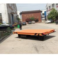 Without Rail Motorized Transfer Trolley 20 Ton Battery Transfer Cart For Material Transport Manufactures