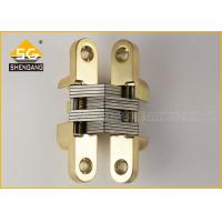 China Zinc Alloy Cupboard Door Hardware Invisible American Hinge For Wooden Box on sale
