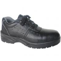 Safety Leather Material ESD Cleanroom Shoes With Steel Toe Electrical Hazard Manufactures
