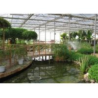 Large Size Twin Wall Polycarbonate Greenhouse 8m - 18m Span Width Range Manufactures
