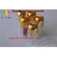 Quality Golden Color Plastic Pill Bottles For Rhino 69 9000 Enhance Male Sex Capsule Packaging for sale