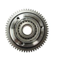 ATV Dirt Bike 57 Teeth Starter Drive Clutch Assembly Round Shape Metal Material Manufactures