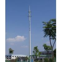 15M Mono Pole Tower Tv Antenna Towers Ham Radio Towers 30 - 100 m Height Manufactures