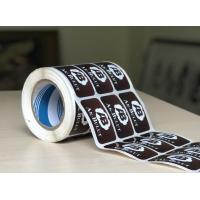 Customized Glossy Paper Self Adhesive Sticker Labels Matte / Glossy Lamination Manufactures