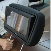 China MP3 WMA Taxi Car Seat LCD Screen For Advertising , LCD Display Panel on sale