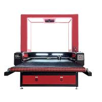 1280 CCD Small Laser Cutting Machine Auto Feeding Biaxial Asynchronous For Soft Material Manufactures