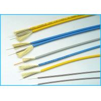 24 Cores Multimode Fiber Optic Cable / Crush - Resistance Fiber Patch Cables Manufactures
