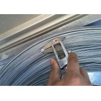 China 1 . 6MM 1900Mpa Galvanized Steel High Carbon Wire , Mattress & Hose Spring Wire on sale