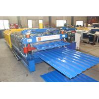 PLC Control Double Layer Roll Forming Machine Stable Performance CE Standard Manufactures