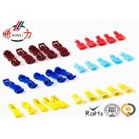 China Quick Disconnect Male Female Wire Connectors / Insulated Crimp Terminals OEM Service on sale