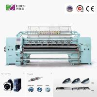 """94""""3 Needle Computerized Quilting Machines X - Axis Movement 305mm Manufactures"""