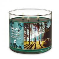 Natural Soy Wax Three Wicks White Glass Holder With Private Labels Manufactures