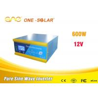 Power Saver Dc Ac Solar Panel Car Power Inverter 12v 110V 220v 6000w For Car Use Manufactures