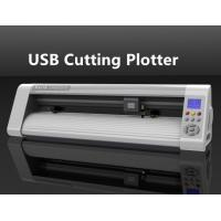 China Optical Sensor Paper / Sticker / Vinyl USB Cutting Plotter with Silicon Butons on sale