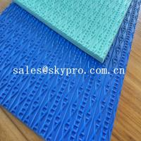 China Custom Shoe Sole Rubber Sheet various color skidproof rubber on sale