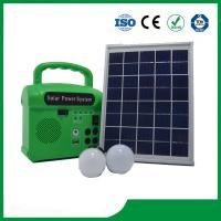 China Home Lighting Solar System,With Radio,LED lamp ,Cell Phone Charger, Solar System Price on sale