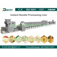 Commercial Instant Noodle Production Line with recipe , SS304 Material Manufactures