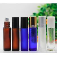 Custom Cosmetic 5ml Roll On Perfume Bottles , Plastic Empty Rollerball Containers Manufactures