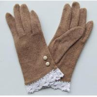 Grey Wool Gloves (CM2132R) Manufactures