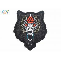 Morale Tactical PVC Rubber Logo Patch Custom PVC Label For Clothing Manufactures