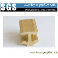 China Brass Extrusion Sanitary Ware Profiles Special Shaped Copper Alloy Extrusion on sale