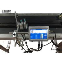 UV Invisible Ink Automatic Date Code Inline Inkjet Printer For Food Manufactures