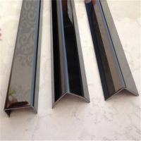 China 304 stainless steel curved tile trim for ceiling metal profiles on sale