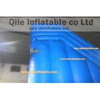 Quality double wave slide inflatable wet & dry slide with pool,pool can removed ,double wave slide for sale
