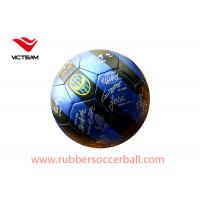 Sports Machine Stitched Custom Printed Soccer Balls for Club Training  Size 5 Size3 Manufactures